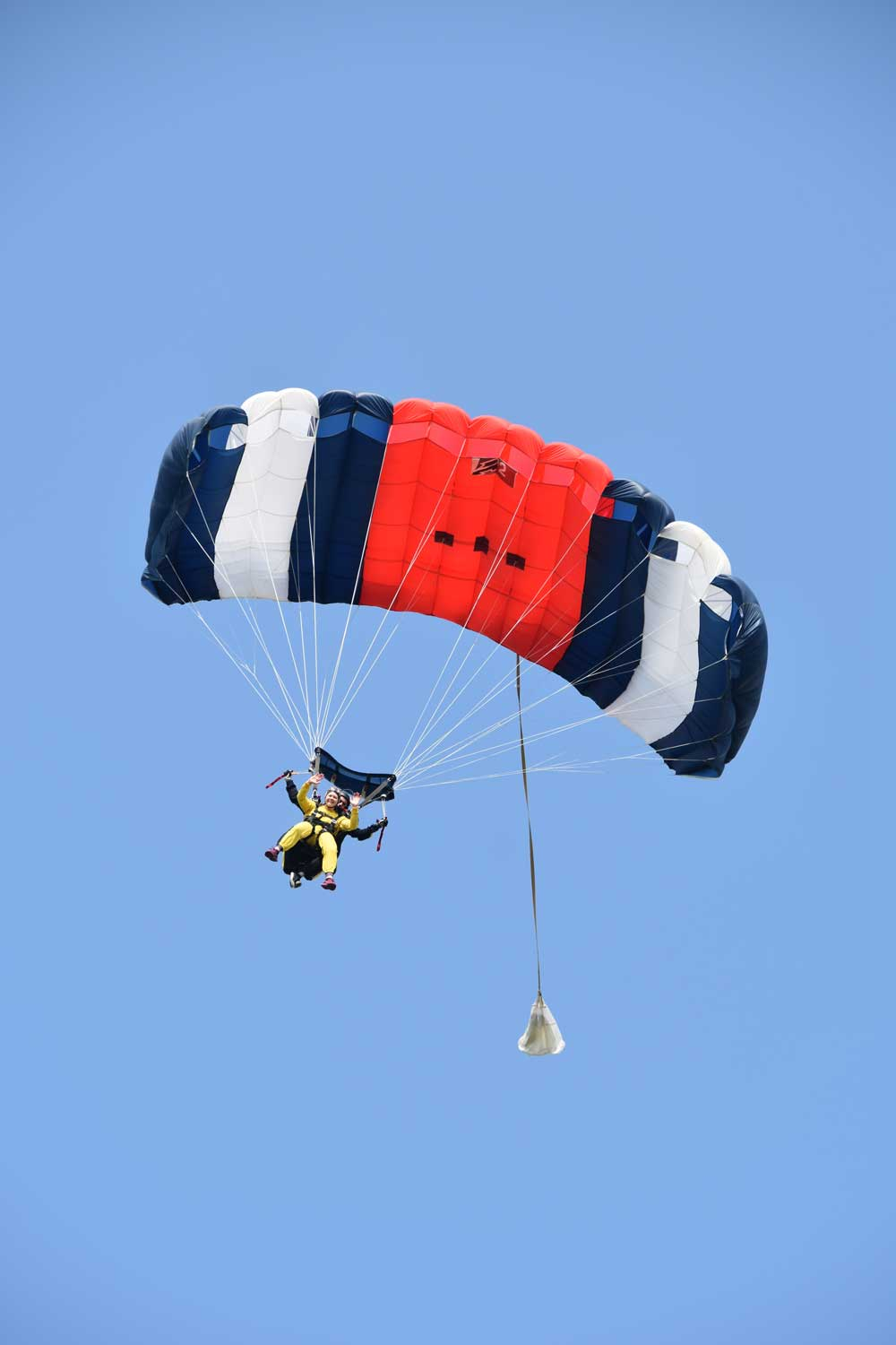 Year 11, completes skydive for charity