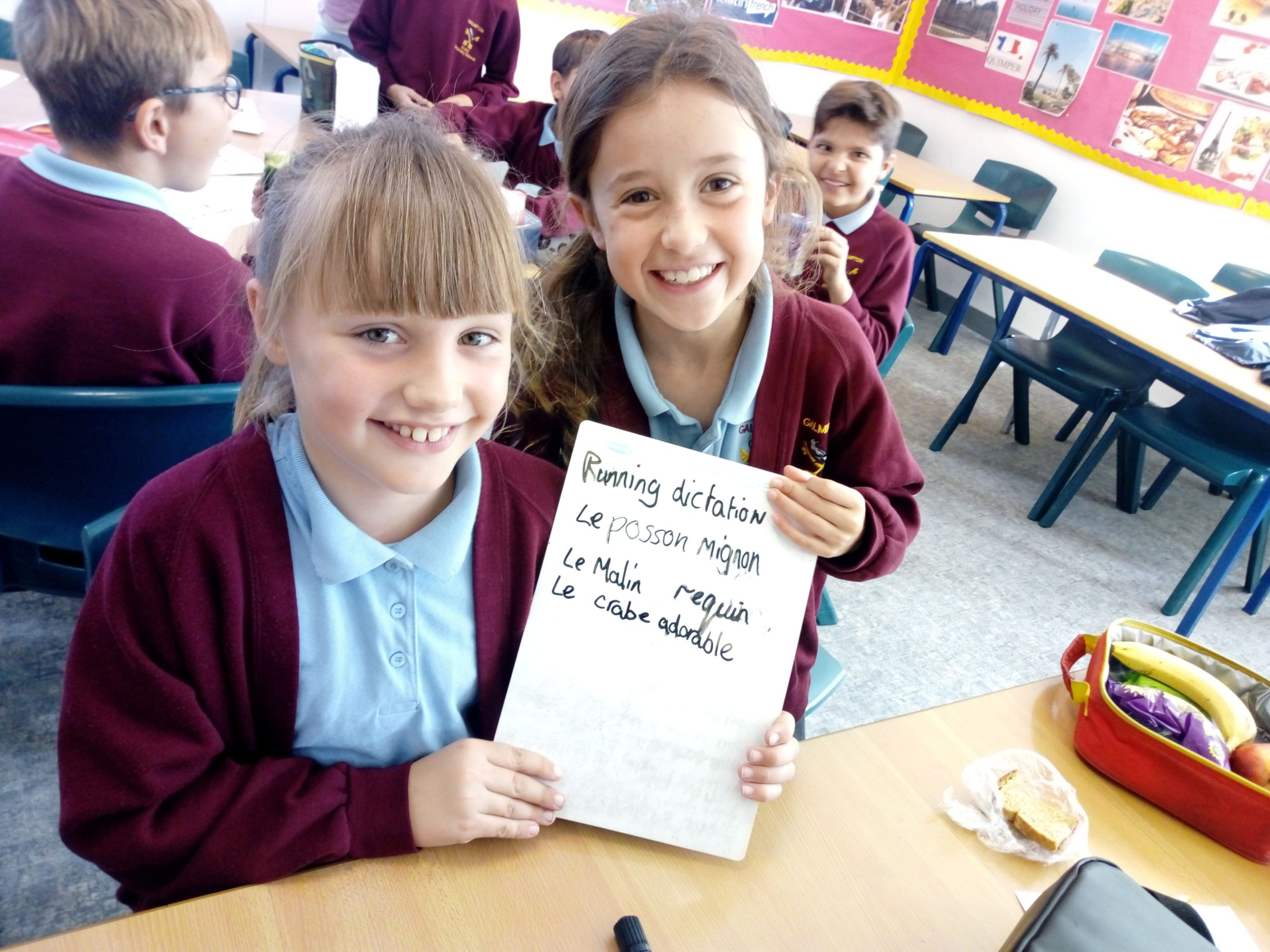 GALMPTON PRIMARY FRENCH WORKSHOP