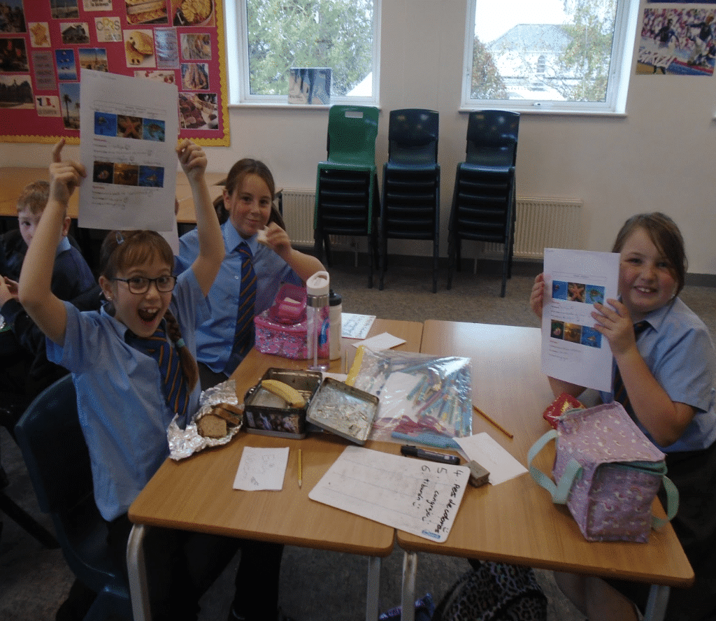 Bonjour from Furzeham primary school – Hola from Brixham CoE primary school