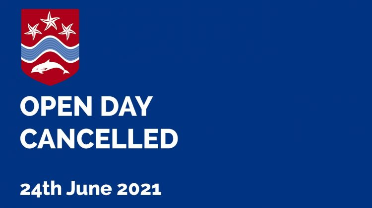 CancelledOpenDay2021