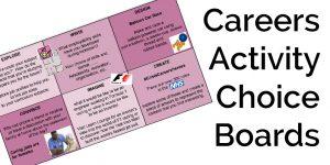 CareersActivityChoiceBoards